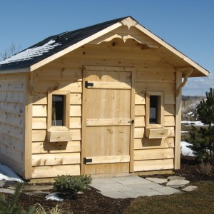 #5. 10'x10' Siding Style w/ Overhang
